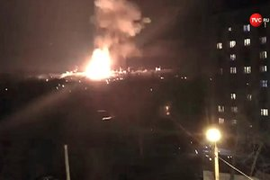 При пожаре на Казанском пороховом заводе погиб один человек