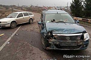 V Ternopil oblasti opilý řidič vrazil policejní auto