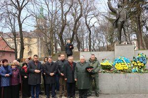 Ve Lvově mají paměť Hrdina Ukrajiny Vjačeslav Чорновила