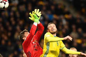 Сборная Швеции разгромила Беларусь в отборе на ЧМ-2018