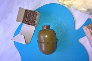 In Zaporozhye on the Playground found a grenade