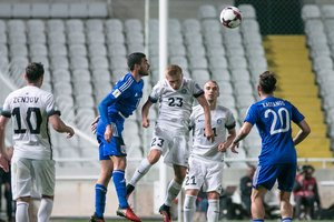 A review of the match Cyprus - Estonia - 0:0