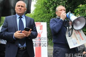 Went missing in Belarus opposition leader Nikolai Statkevich