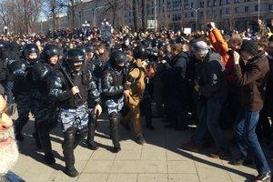 Митинг против коррупции в Москве: СМИ сообщают о 130 задержанных