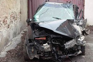 Столкновение авто в Тернопольской области: пострадали пять человек