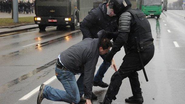 В Республики Беларусь арестовали украинца заучастие впротестах