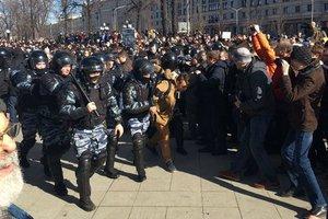 В России составили протоколы на родителей митинговавших детей