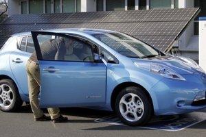 Die Ukrainer schnell transplantiert zu den Elektroautos