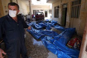 В Мосуле после ударов коалиции нашли тела 112 мирных жителей