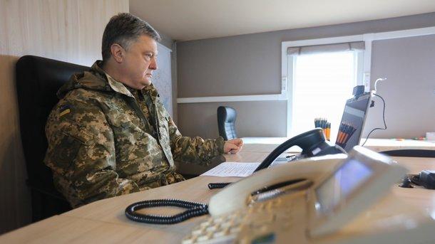 Порошенко предложил восстановить военные суды вгосударстве Украина