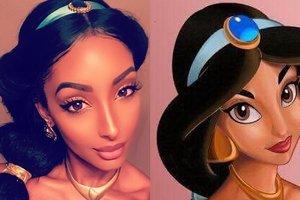 В Instagram нашли вылитую принцессу Жасмин из мультфильма Disney