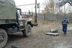 Военные приступили к уничтожению неразорвавшихся снарядов в районе Балаклеи