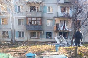 В сети показали последствия обстрела Донецка