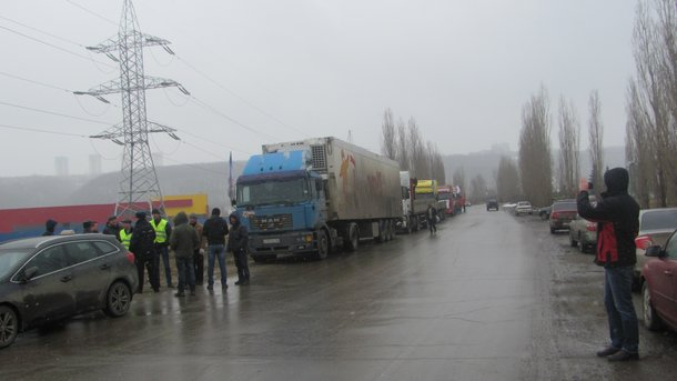 В РФ началась массовая акция протеста дальнобойщиков