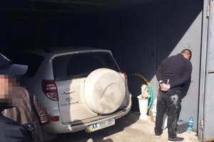 In Kharkov dismantled a gang of kidnappers luxury cars
