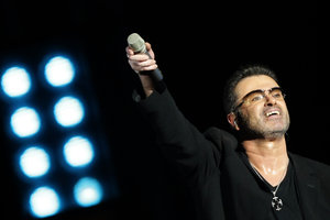 À Londres enterré le chanteur George Michael