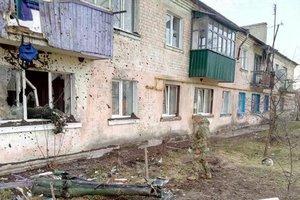 I Balakliya, restaurering arbejde, begyndte