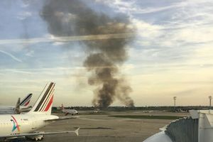 Major fire occurred at Orly airport