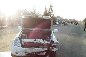 Смертельное ДТП на Донбассе: есть погибший и раненые