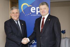 Porochenko est en attente que le 6 avril, le Parlement européen votera pour безвиз pour l'Ukraine