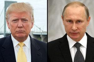 Poutine a proposé un emplacement inattendu d'une éventuelle rencontre avec Trump