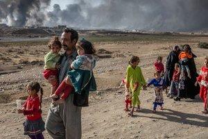 Террорист в Ираке использовал ребенка в качестве живого щита