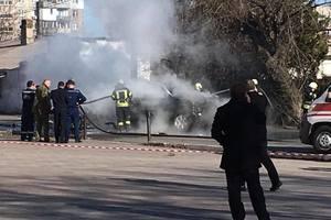 Как выглядит место теракта в Мариуполе