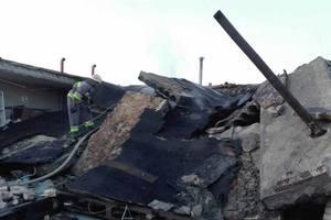 В Киеве взорвался гараж, из-под завалов достали мужчину