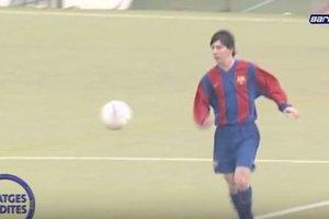 Как играл Лео Месси, когда ему было 15 лет