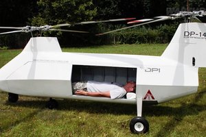 Создан беспилотник для эвакуации раненых