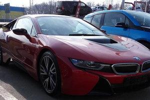 В Украине заметили эксклюзивный гибрид BMW за 180 тысяч долларов