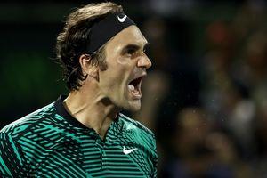 Федерер впервые за 11 лет вышел в финал турнира в Майами