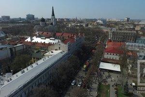 Одесская Юморина с высоты птичьего полета