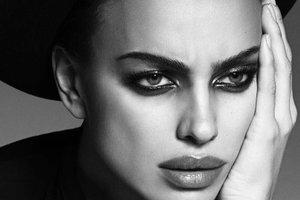 Ирина Шейк без макияжа снялась для обложки Vogue
