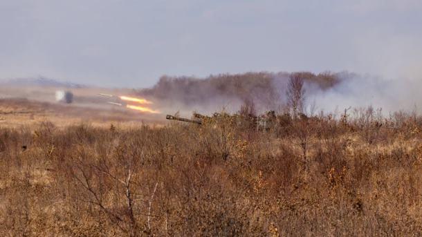 ВКрыму провели учебные стрельбы