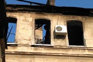Появились фото последствий масштабного пожара в Одессе