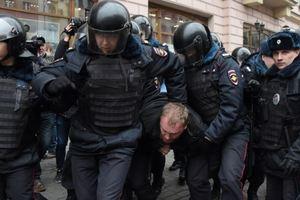 Протесты в Москве: полиция задержала более 40 человек