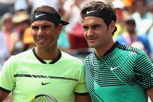 Федерер в третий раз в этом году обыграл Надаля