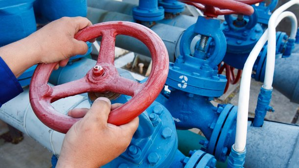 Отбор газа изПХГ Украины уменьшился на21%