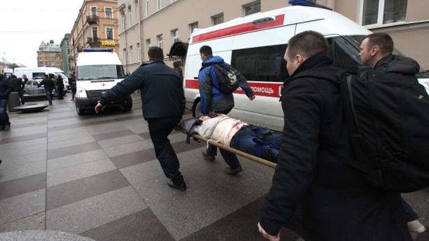 Новые данные: в итоге взрыва впетербургском метро пострадало 30 человек