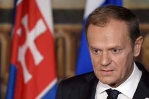 Туск выразил соболезнования жертвам взрыва в Петербурге на русском языке