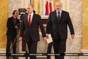 Путин и Лукашенко урегулировали нефтегазовый спор