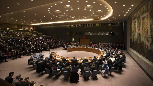 ВСовбез ООН внесён проект резолюции поинциденту схиморужием вСирии