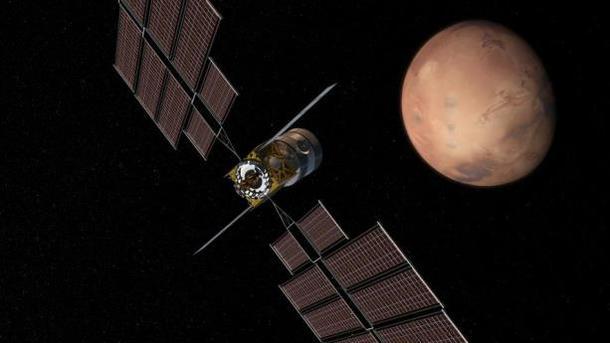 Исследовательский марсианский аппарат Deep Space Transport