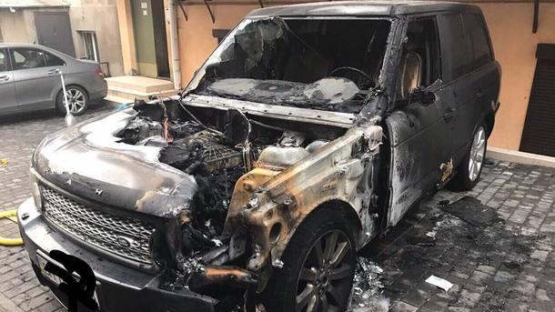 ВОдессе активистов «Безпечного міста» задержали после поджога джипа