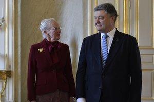 Порошенко пригласил королеву Дании в Украину