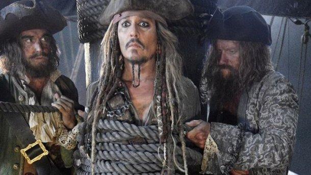 Кадр из трейлера «Пираты Карибского моря 5»
