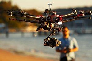 В Харькове за порядком теперь следят дроны