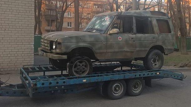 Экспонат-герой. Фото: пресс-служба Днепропетровской ОГА
