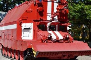В Укроборонпроме испытали новый пожарный танк